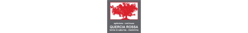Logo Agriturismo Quercia Rossa a Saturnia